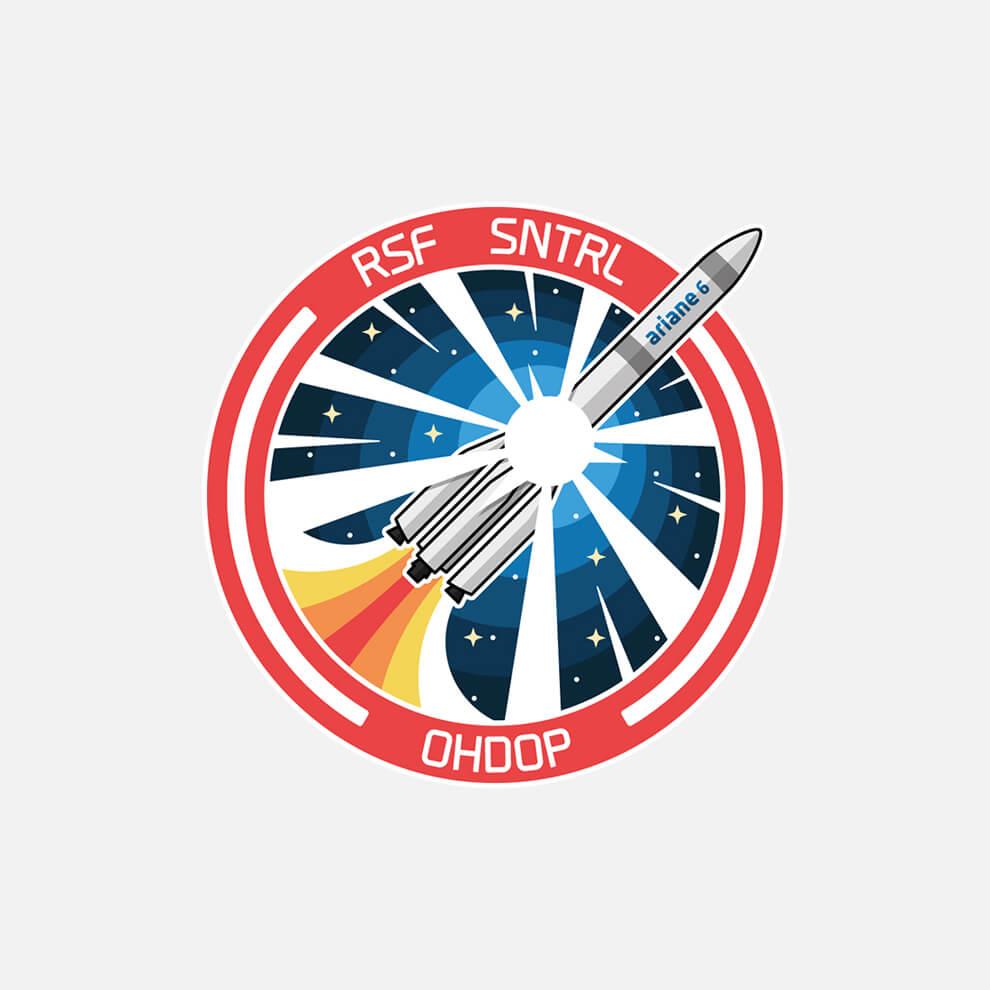 Ariane Six Badge
