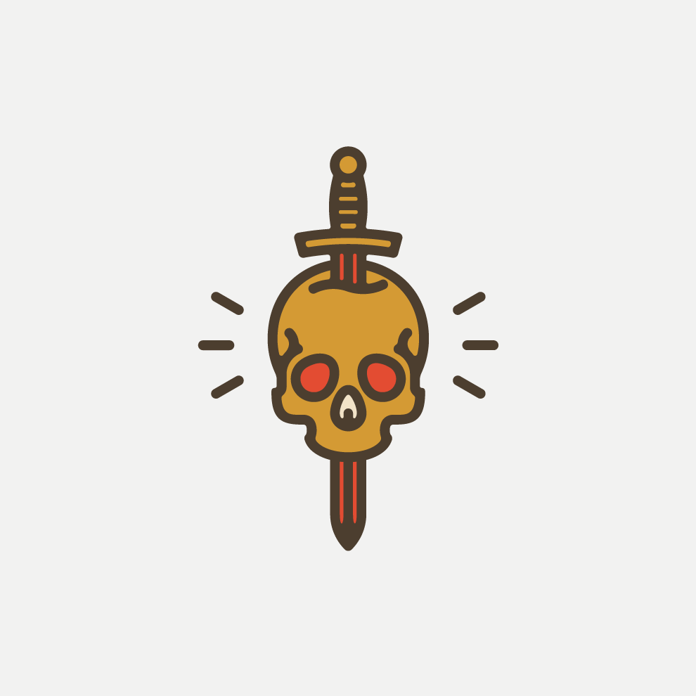 logo Sword & Skull